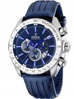 Ceas: Ceas barbatesc Festina F16489/B Dual-Time Cronograf 45mm 10ATM