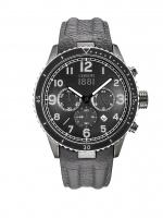 Ceas: Ceas barbatesc Cerruti CRA104SUB02GY Volterra Cronograf 46mm 5ATM