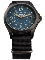 Ceas: Ceas barbatesc Traser H3 108632 P67 Officer GunMetal Blue  42mm 10ATM