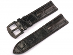 Ceas: Curea de ceas U-Boat Ref. 6491 IPB 23/22 braun-schwarz Alligator leder