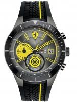 Ceas: Ceas barbatesc Scuderia Ferrari 0830342 Red Red Evo Cronograf 50mm 5ATM