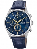 Ceas: Ceas barbatesc Festina F20286/3 Timeless Cronograf  41mm 5ATM
