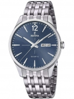 Ceas: Ceas barbatesc Festina F20204/3 Retro Day-Date   41mm 5ATM