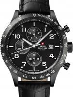Ceas: Ceas barbatesc Swiss Military SM34084.07 Cronograf 42 mm 10ATM