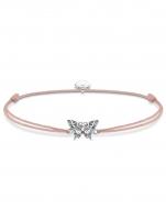 Ceas: Thomas Sabo Armband Little Secrets Schmetterling LS082-640-7 14-20cm
