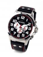 Ceas: Ceas barbatesc TW-Steel Pilot TW415 Cronograf 48mm