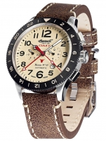 Ceas: Ceas barbatesc Ingersoll IN3224CR Bison No. 69 GMT Automat 46mm