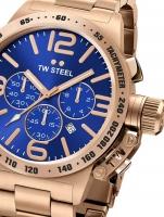 Ceas: Ceas barbatesc TW-Steel CB183 Canteen Bracelet Cronograf 45mm 10ATM