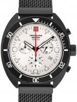 Ceas: Ceas barbatesc Swiss Alpine Military 7066.9172 Turtle Cronograf 44mm 10ATM
