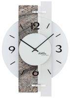 Ceas: Ceas de perete AMS 9558 Wanduhr modern - Serie: AMS Design