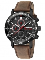 Ceas: Ceas barbatesc Wenger 01.1843.107 Roadster Black Night Chrono. 45mm 10ATM