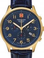 Ceas: Ceas barbatesc Swiss Alpine Military 7084.9515 Cronograf 43mm 10ATM