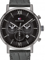 Ceas: Ceas barbatesc Tommy Hilfiger 1710395 Even Dual-Time  44mm 5ATM