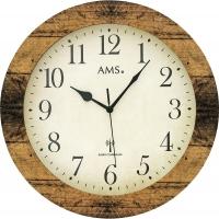 Ceas: AMS 5560  klassische Funkwanduhr - Serie: AMS Design