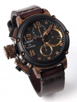 Ceas: Ceas barbatesc U-Boat 8015 Chimera B&B Chrono 43mm 10ATM