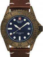 Ceas: Ceas barbatesc Swiss Alpine Military 7051.1585 Diver Vintage 41mm 10ATM