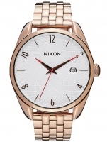 Ceas: Nixon A418-2183 Bullet All Rose Gold Silver 38mm 5ATM