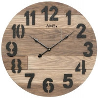 Ceas: Ceas de perete AMS 9569 modern - Serie: AMS Design