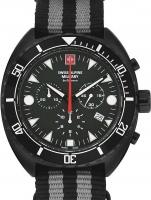 Ceas: Ceas barbatesc Swiss Alpine Military 7066.9677 Turtle Cronograf 44mm 10ATM