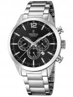 Ceas: Ceas barbatesc Festina F20343/8 Timeless Cronograf 43mm 10ATM