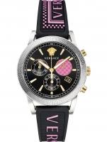 Ceas: Ceas de dama Versace VELT00619 Sport Tech Cronograf 40mm 5ATM