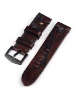 Ceas: Curea de ceas U-Boat Vintage Kalbsleder -scull- braun 23/22 Ref. 6993