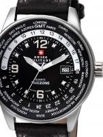 Ceas: Ceas barbatesc Swiss Military SM34007.03 GMT-Worldtimer 41mm 5ATM