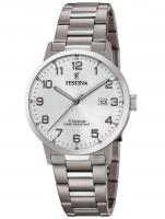 Ceas: Ceas barbatesc Festina F20435/1 Klassik Titan Cronograf 40mm 10ATM