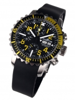 Ceas: Ceas barbatesc Fortis 671.24.14 K B-42 Marinemaster Yellow Cronograf 42mm 20ATM