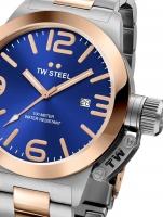 Ceas: Ceas barbatesc TW-Steel CB141 Canteen Bracelet 45mm 10ATM