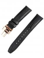 Ceas: Ingersoll Ersatzband [20 mm] schwarz m. rosé Schließe Ref. 25038