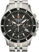 Ceas: Ceas barbatesc Swiss Alpine Military 7022.9137 Cronograf 42mm 10ATM