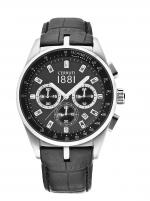 Ceas: Ceas barbatesc Cerruti CRA089A222G Veliero Cronograf 42mm 5ATM