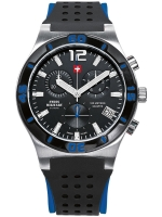 Ceas: Ceas barbatesc Swiss Military SM34015.08 Cronograf 10 ATM, 43 mm