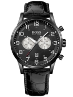 Ceas: Hugo Boss 1512920 Sport Chronograph PVD negru 44 mm