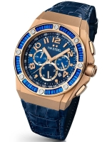 Ceas: Ceas de dama TW-Steel Kelly Roland TWCE4007 XL-Chrono 44 mm