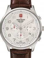 Ceas: Ceas barbatesc Swiss Alpine Military 7084.9532 Cronograf 43mm 10ATM