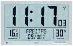Ceas: AMS 5888 Wanduhr modern Funkwanduhr digitale Wanduhr Wetterstation - Serie: AMS Design