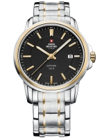 Ceas: Ceas barbatesc Swiss Military SM34039.04 Saphir, 10 ATM, 40 mm