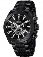Ceas: Ceas barbatesc Festina F16889/1 Dual-Time Cronograf 44mm 10ATM