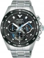 Ceas: Ceas barbatesc Pulsar PZ5105X1 Solar Cronograf 45mm 10ATM