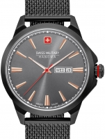 Ceas: Ceas barbatesc Swiss Military Hanowa 06-3346.13.007 Day Date Classic 45mm 10ATM