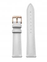 Ceas: Cluse Ersatzband CLS077 [18 mm] weiß m. rosé Schließe