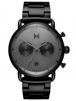 Ceas: Ceas barbatesc MVMT BT01-BB Blacktop Cronograf 46mm 10ATM