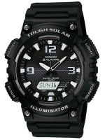 Ceas: Ceas barbatesc Casio AQ-S810W-1AVEF Collection Solar Cronograf 10 ATM 46 mm
