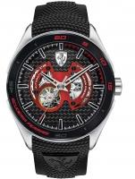 Ceas: Ceas barbatesc Scuderia Ferrari 0830348 Gran Premio Automat 45mm 5ATM