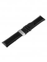 Ceas: Universal Cures de schimb  [24 mm] Negru + Catarama fluture Ref. 23833