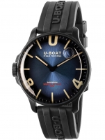 Ceas: Ceas barbatesc U-Boat 8700 Darkmoon Blue IPB Soleil 44mm 5ATM