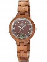 Ceas: Master Time MTLW-10750-81W radio controlled Specialist Wood 36mm 3ATM