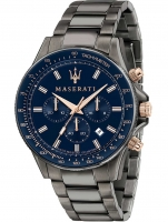 Ceas: Ceas barbatesc Maserati R8873640001 Sfida Cronograf 44mm 10ATM